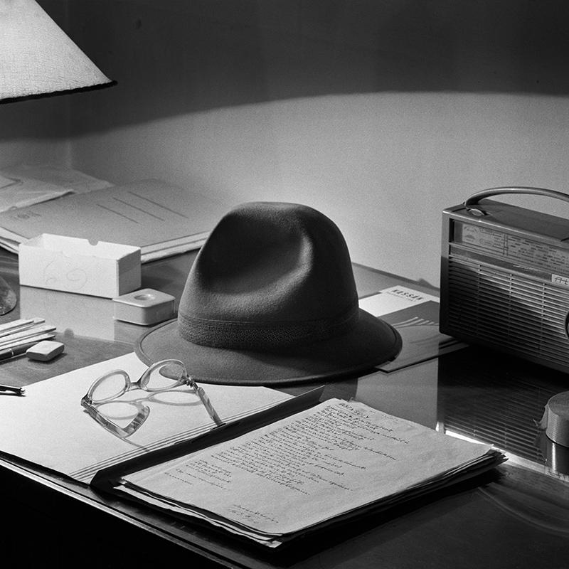 Desk of Lajos Kassák (1971)