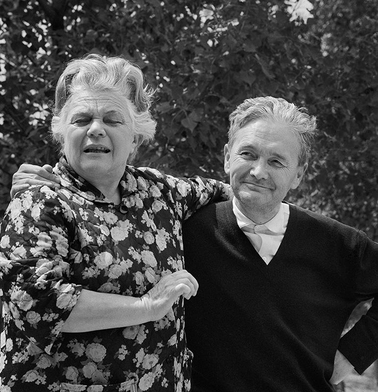 Németh László és felesége (1971)